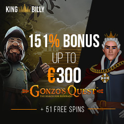 King Billy Casino Review And Bonus